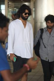 Vijay Deverakonda Returns from Katy Perry Party