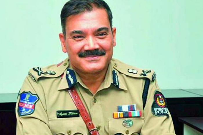 HYD CP deletes tweet after receiving criticism