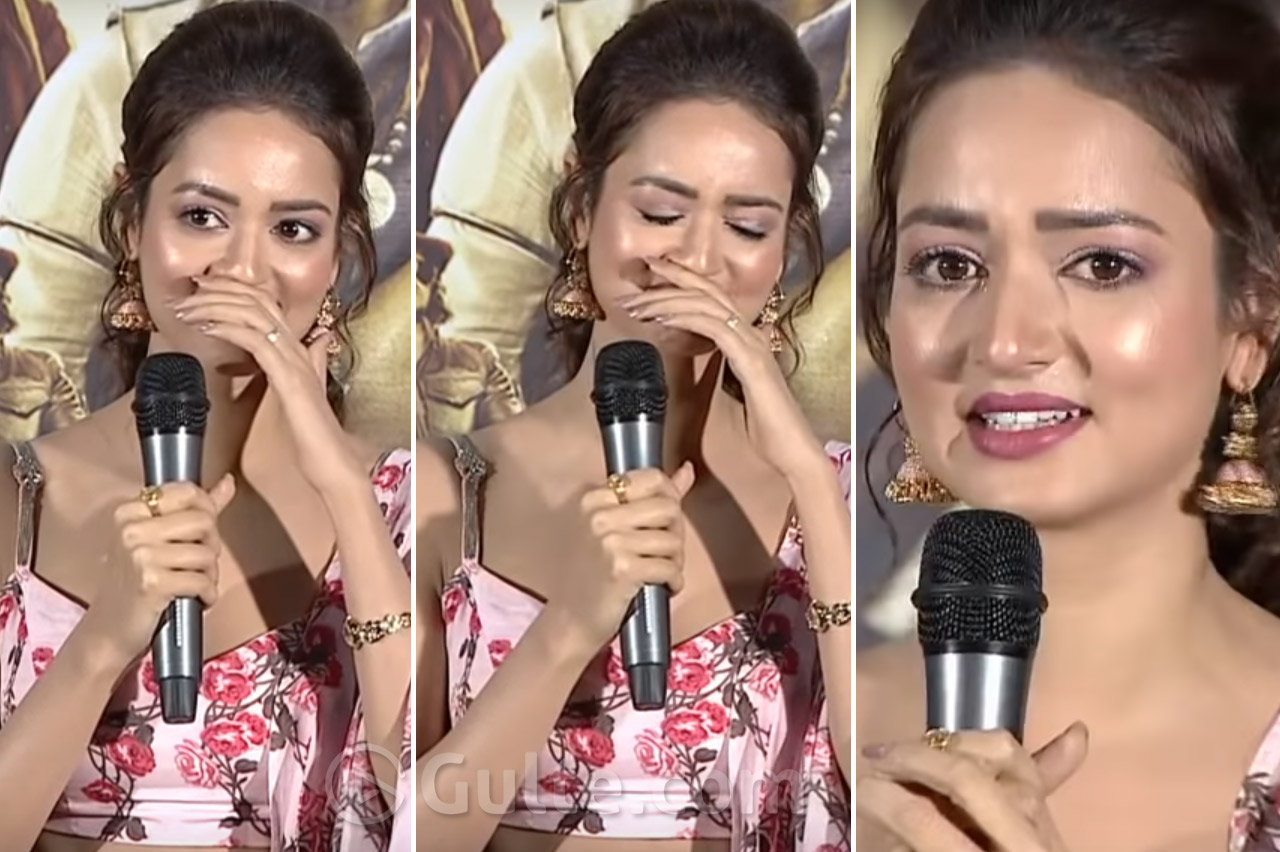 I've Stopped Coming to Hyderabad; Heroine Breaks Into Tears