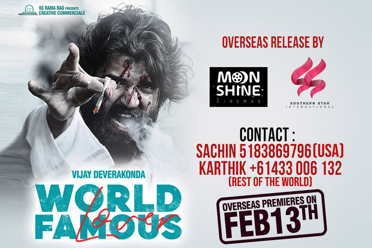 World Famous Lover Overseas by Moonshine Cinemas