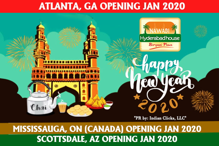 Nawabi Hyderabad House Biryani Place Wishes All A Splendid Happy New Year 2020