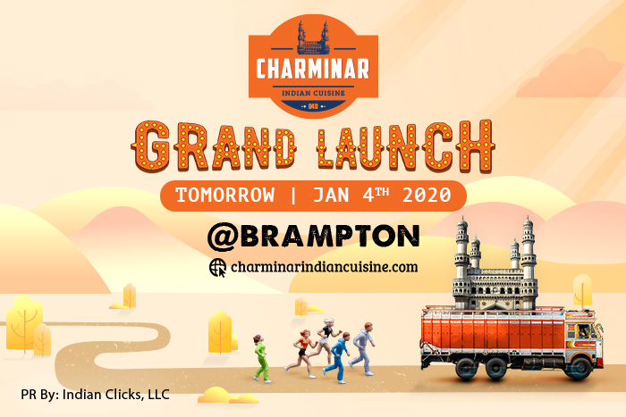 Charminar, Canada's favorite Indian restaurant comes to Brampton