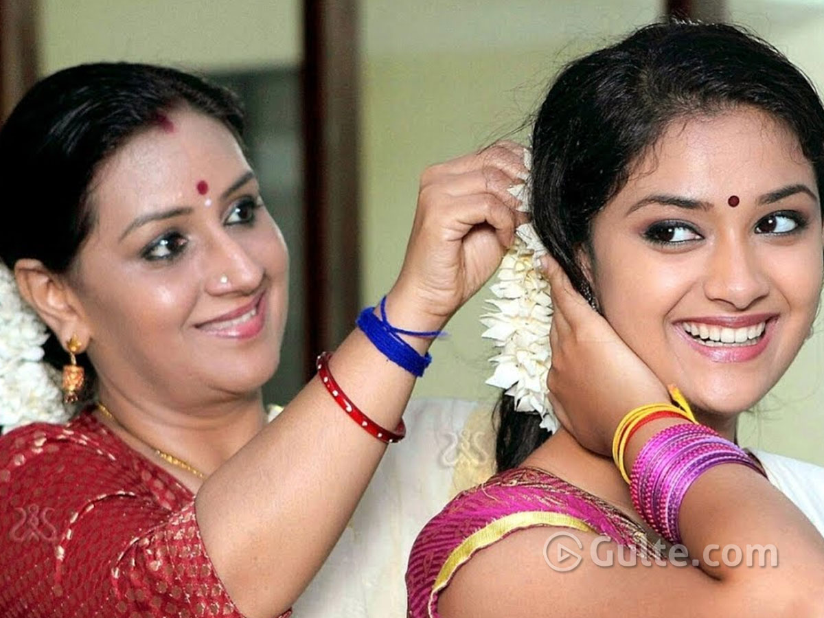 Keerthy Suresh to do a sequel of her mother's film?