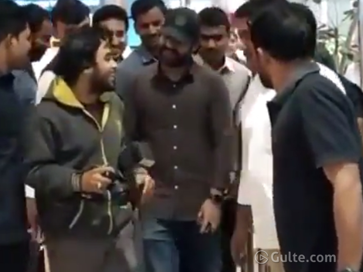 Watch: Jr NTR's Funny chat With Paparazzi Photographer