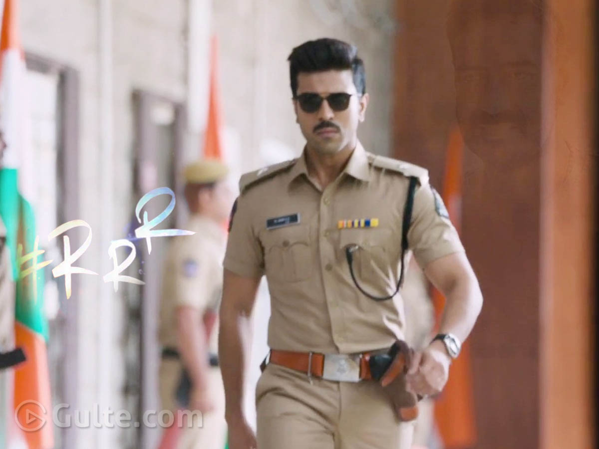 Ram Charan As A Cop! Only For 5 Minutes