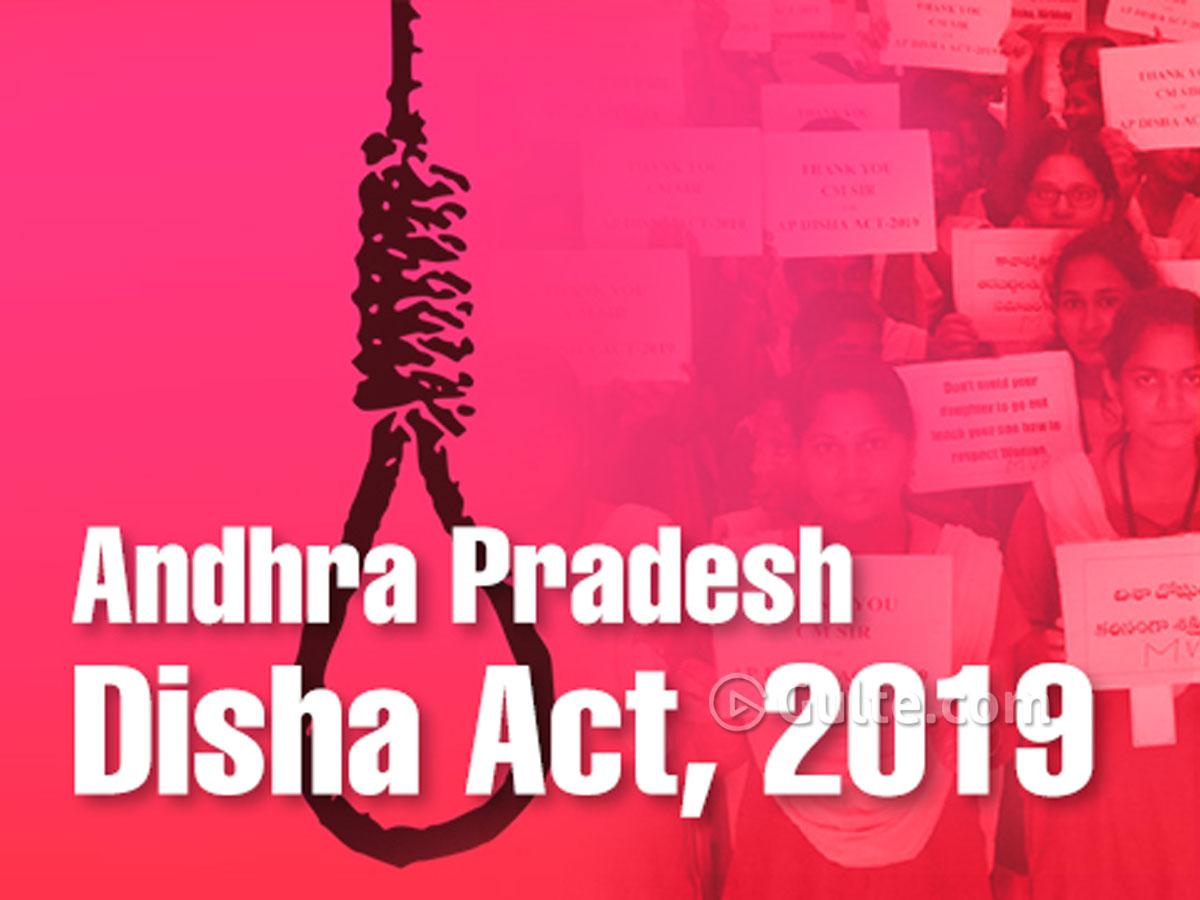 #DishaAct: Centre sends back the bill to AP