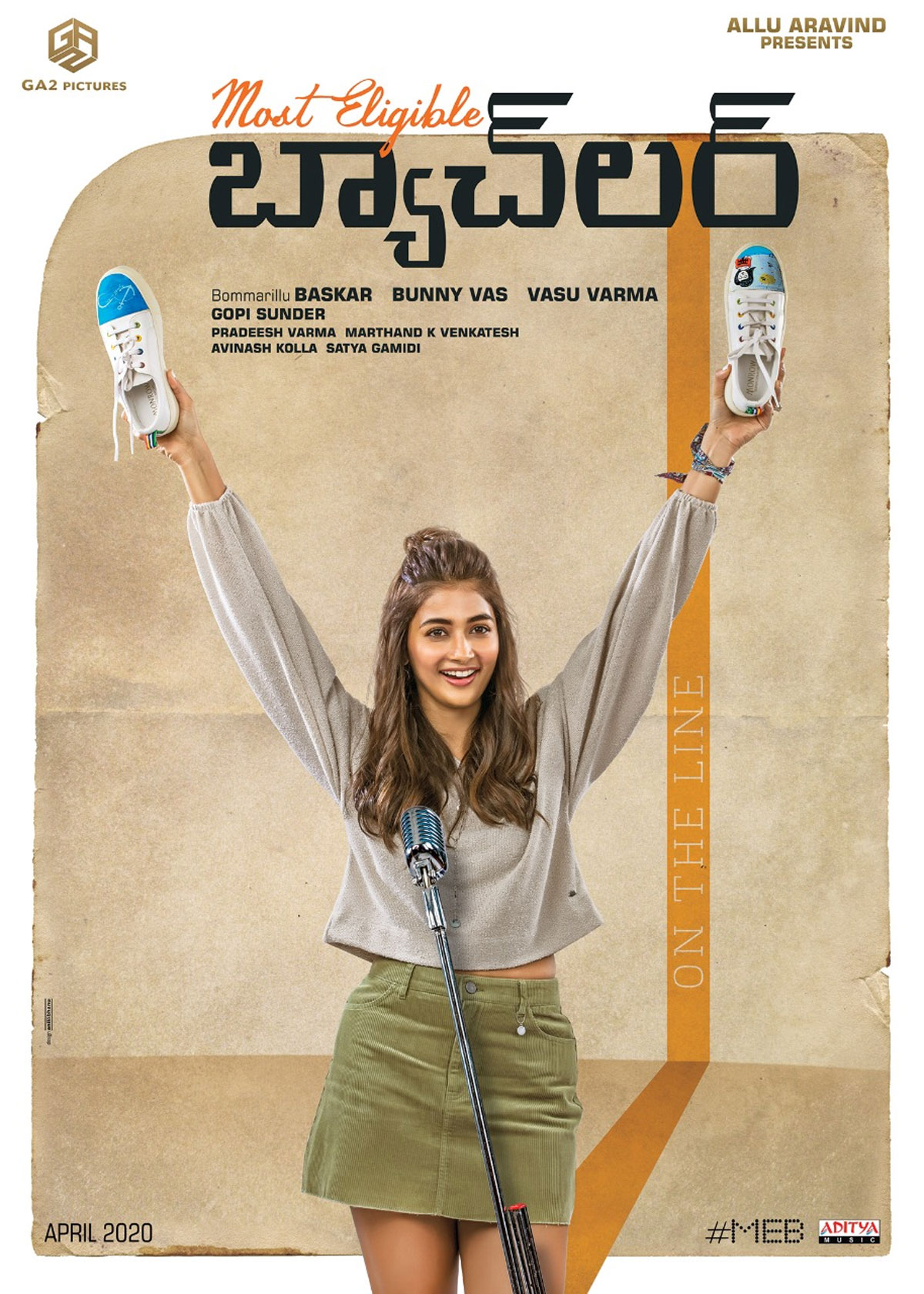 FL: Pooja Hegde In Most Eligible Bachelor
