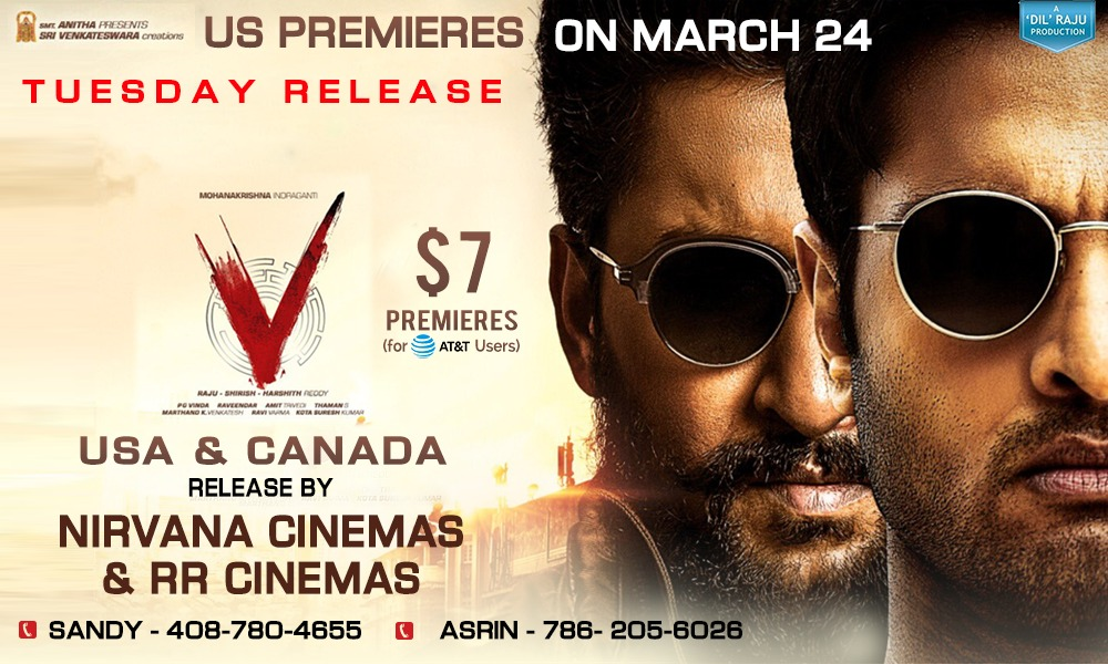 'V' North America By Nirvana Cinemas & RR Cinemas