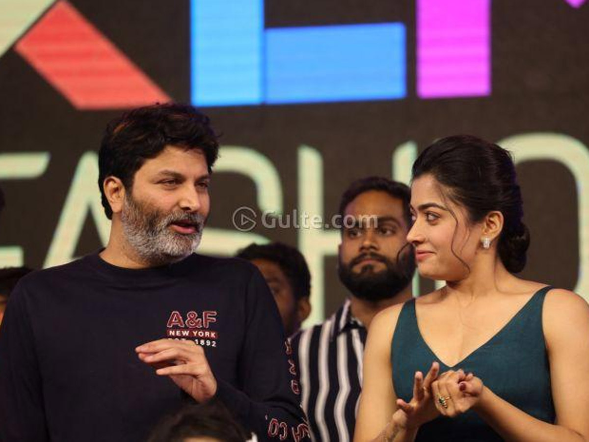 Buzz: She Signed Trivikram's Film, But Staying Silent