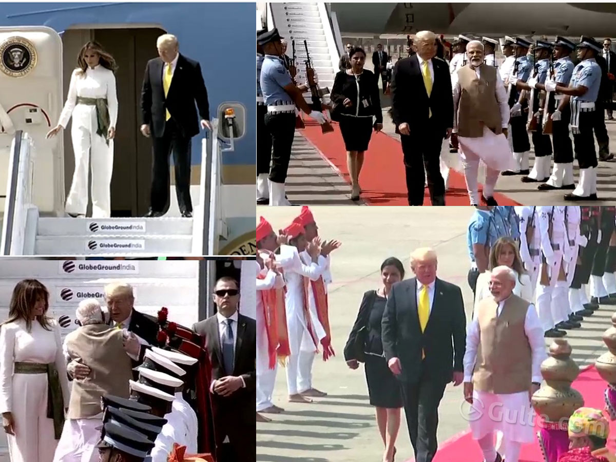 LIVE: India Welcome's Trump!