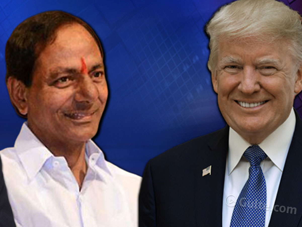 KCR flies to Delhi with special gifts to Trump