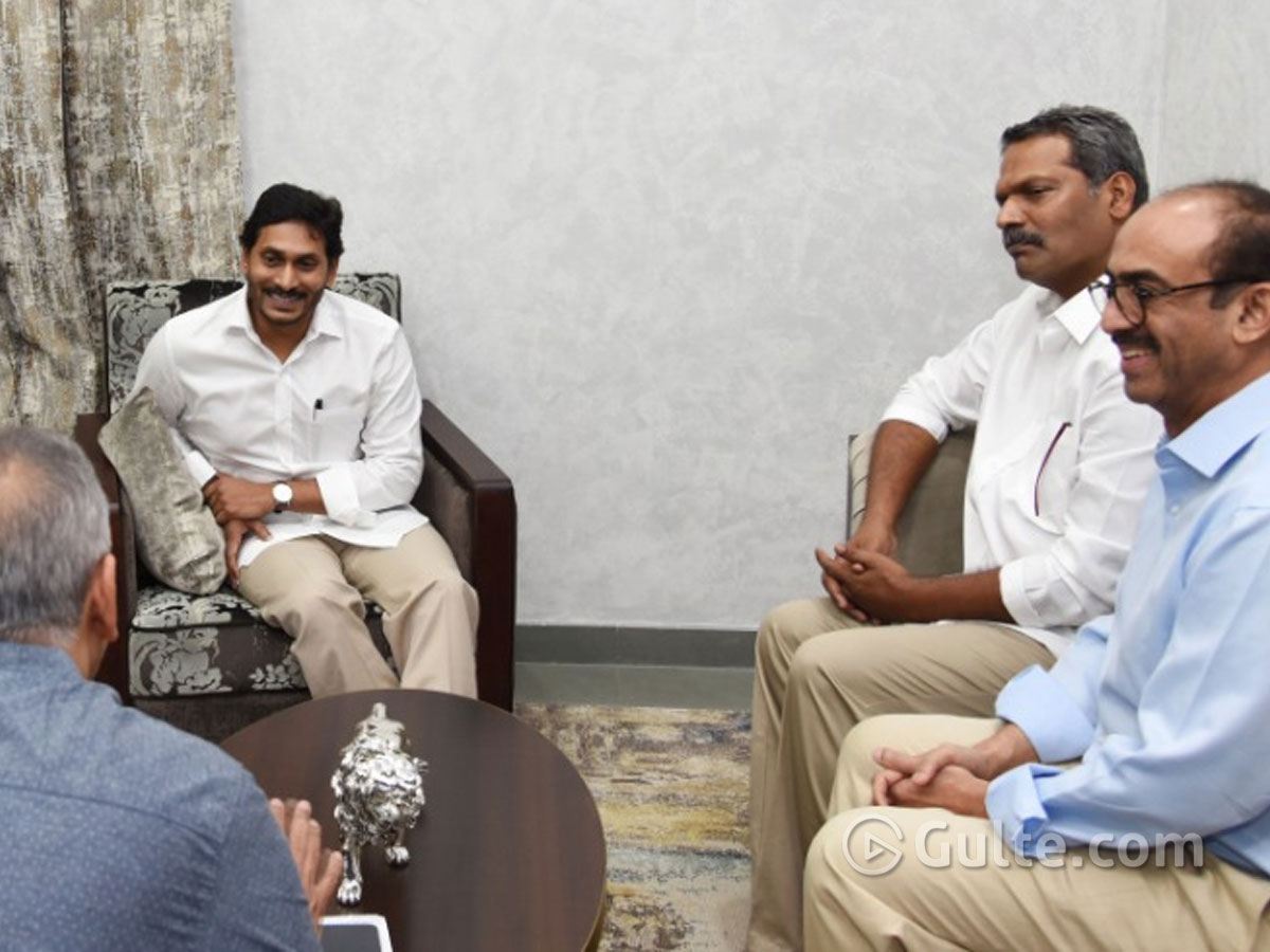 Tollywood's First Meeting With CM Jagan