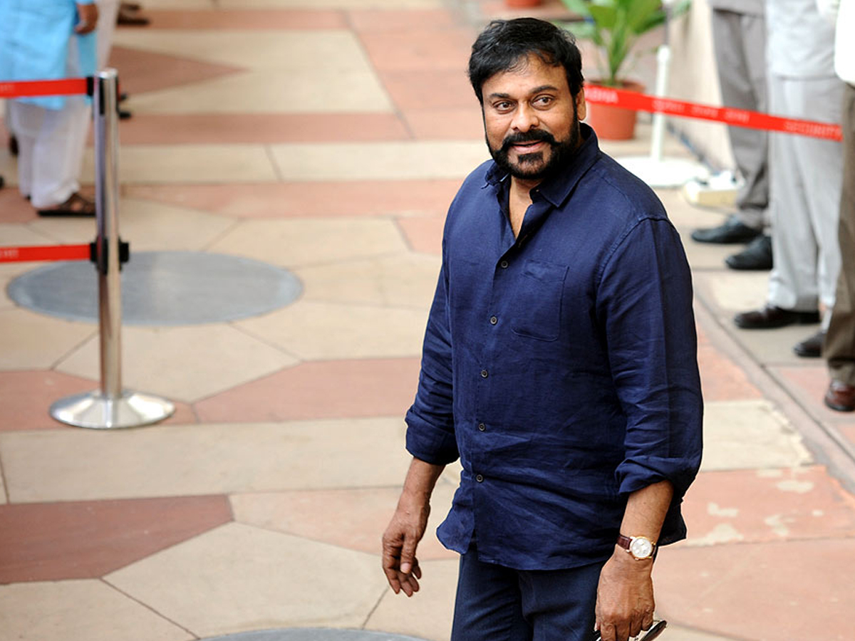High Security at Chiru's residence