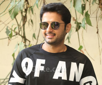 Hero Nithiin At Bheeshma Promotions