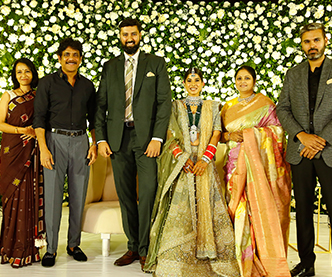 Jayasudha Son Wedding Reception Photos