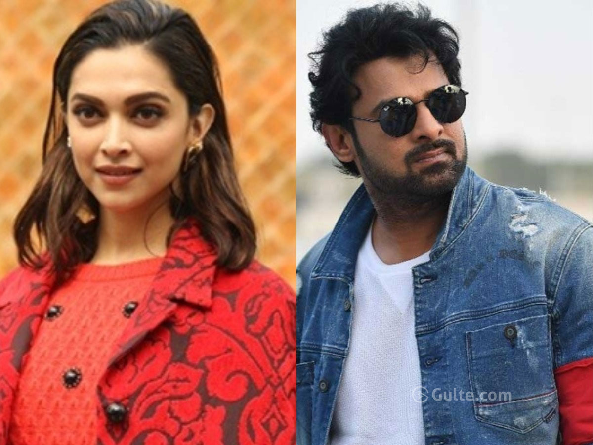 Deepika Padukone approched for Prabhas?
