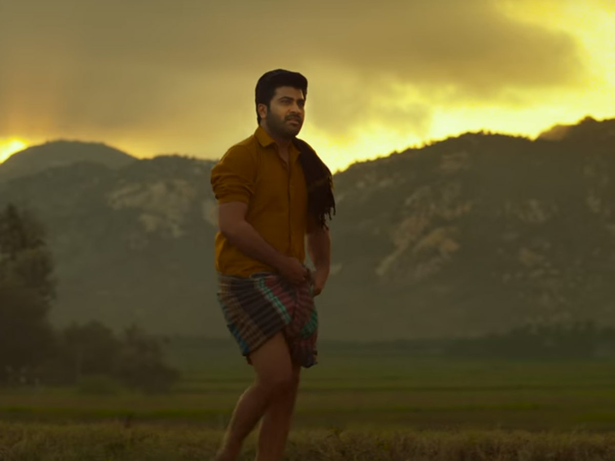 Sharwa's 'Sreekaram' First Glimpse: Pleasant and Beautiful