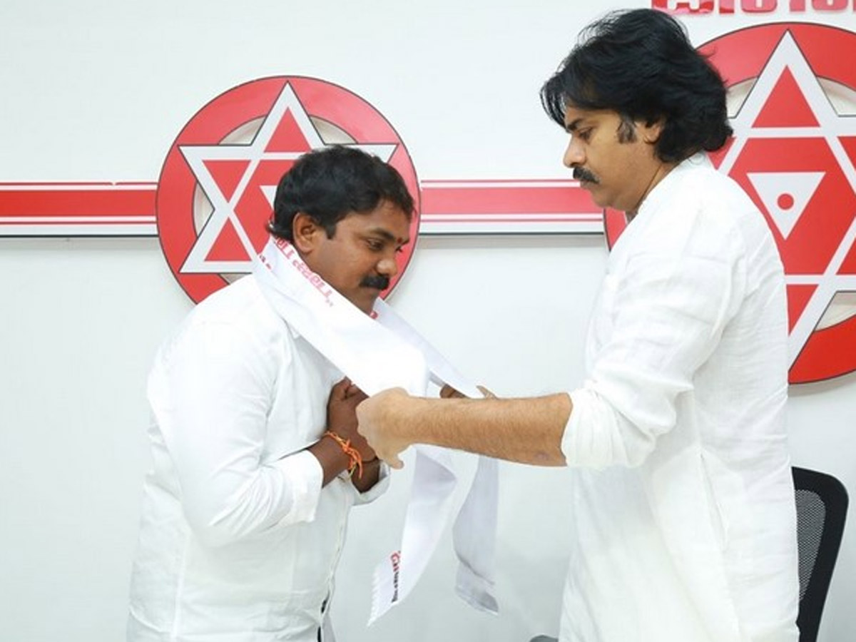 For A Change: YCP leaders Join Jana Sena