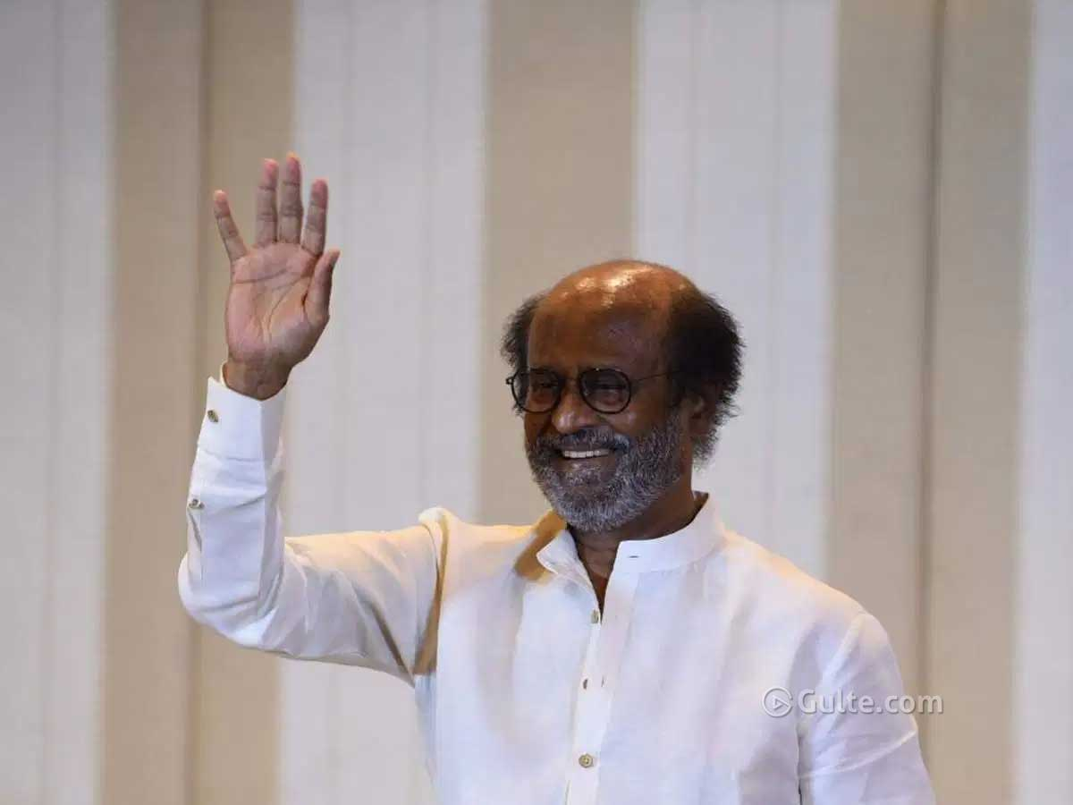 I Will Not Be The CM Candidate - Rajnikanth