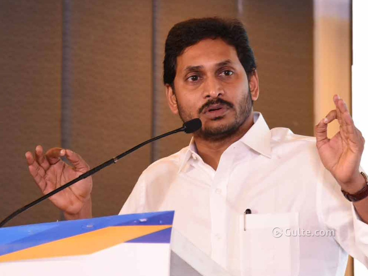 CM Jagan Upset with Election Commissioner's 'Caste'