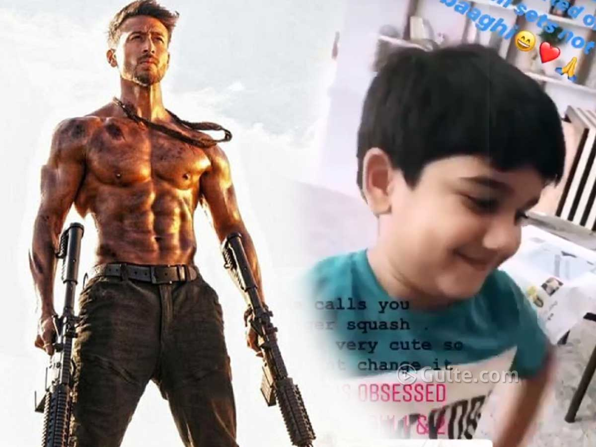Tiger Shroff responds to Allu Arjun's video