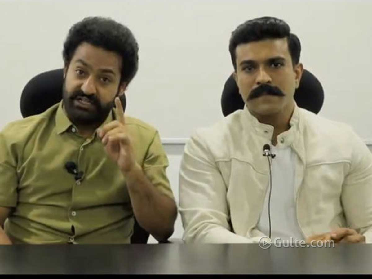 Unnecessary Fighting Over NTR-Charan's Message Video