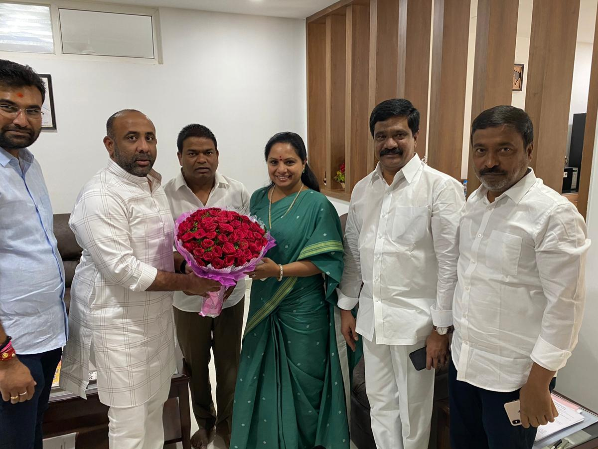 Finally Kavitha gets MLC seat