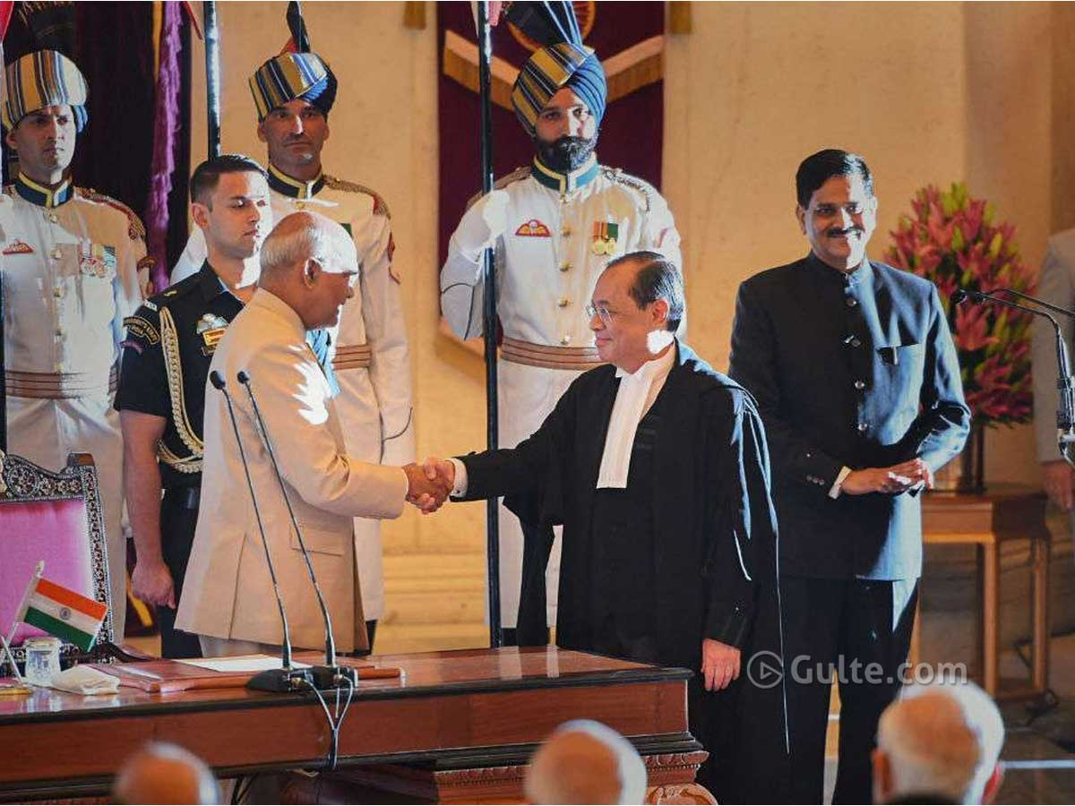 Gogoi takes oath as MP, oppositions walk out