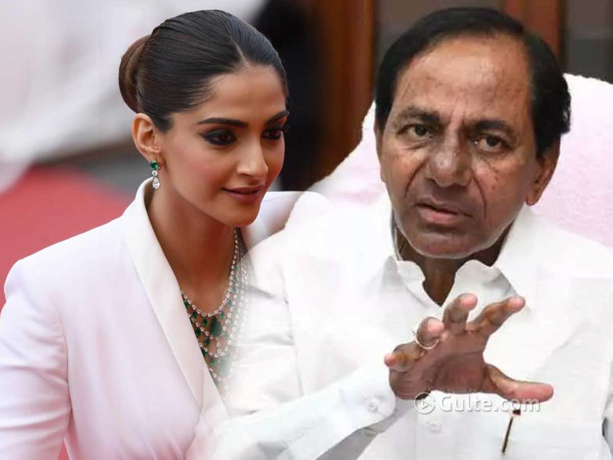 Sonam Kapoor Finds Fault With Telangana CM KCR