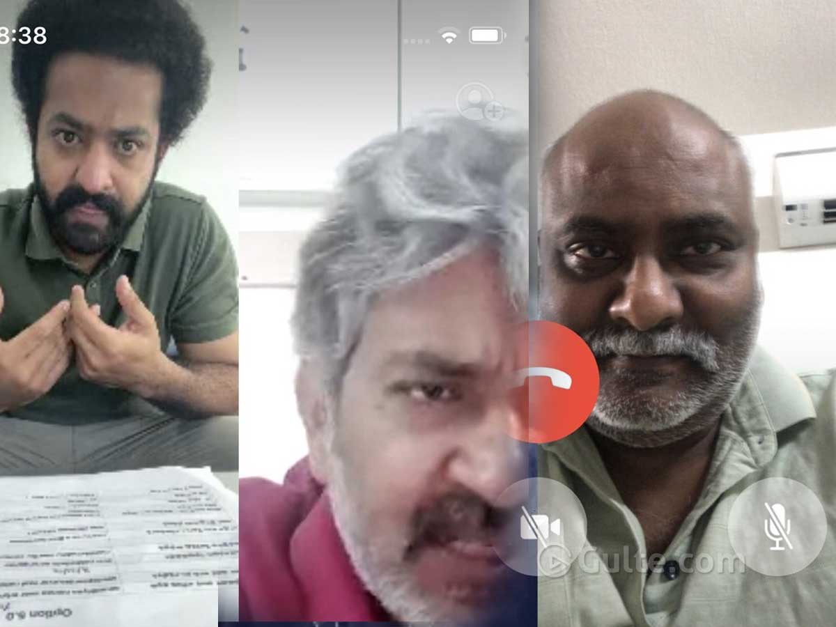'Work From Home' Video Call Of #RRR Team Going Viral