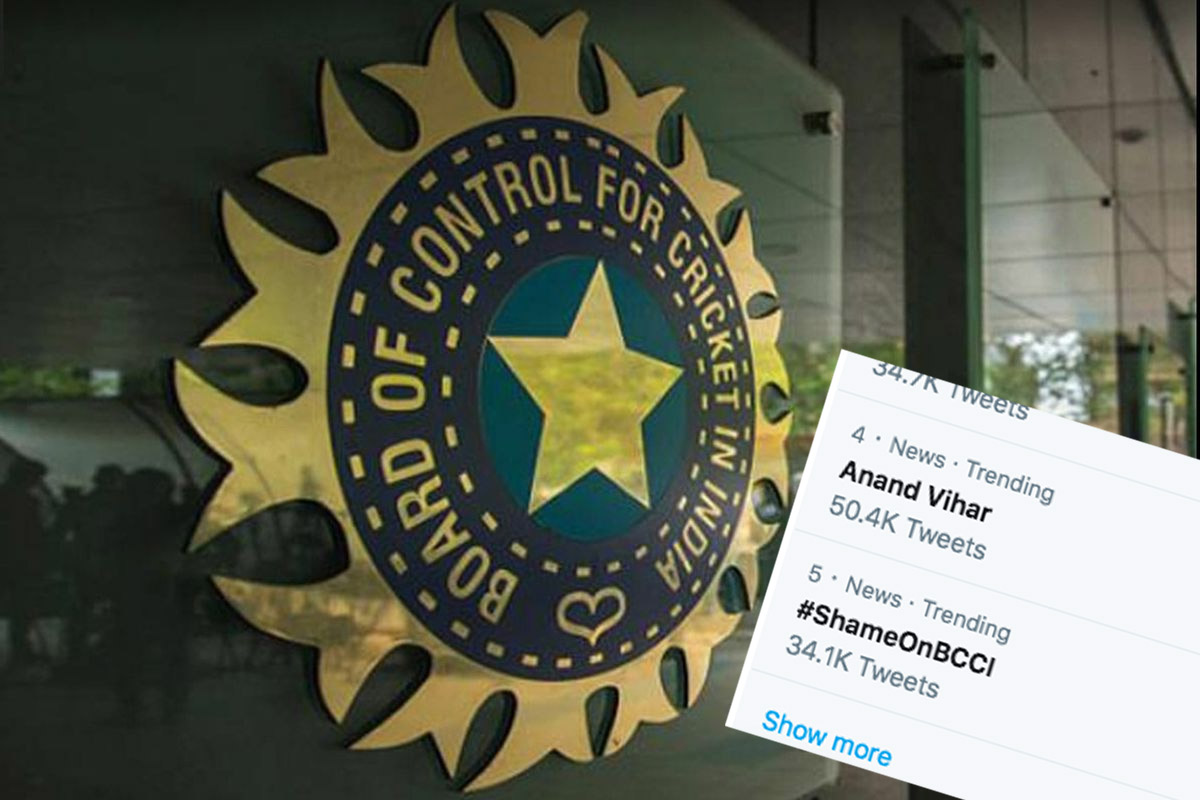 Why Is #ShameOnBCCI Trending?