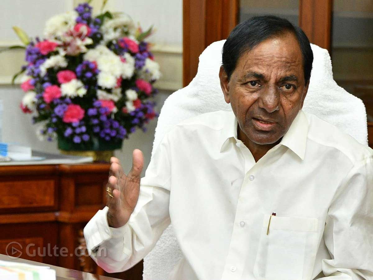 With One Action KCR Wins Huge Applause