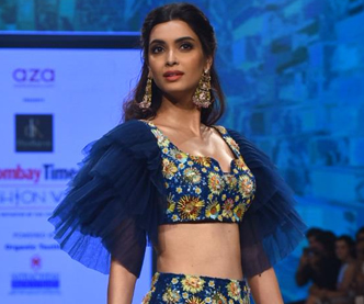 Diana Penty steals the show at BT Fashion Week Ramp Walk