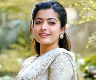 Rashmika Mandanna Beautiful Saree Photoshoot