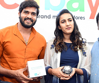 Niharika Konidela at CellBay Store Launch