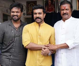 Ram Charan at Manchu Manoj New Movie Opening