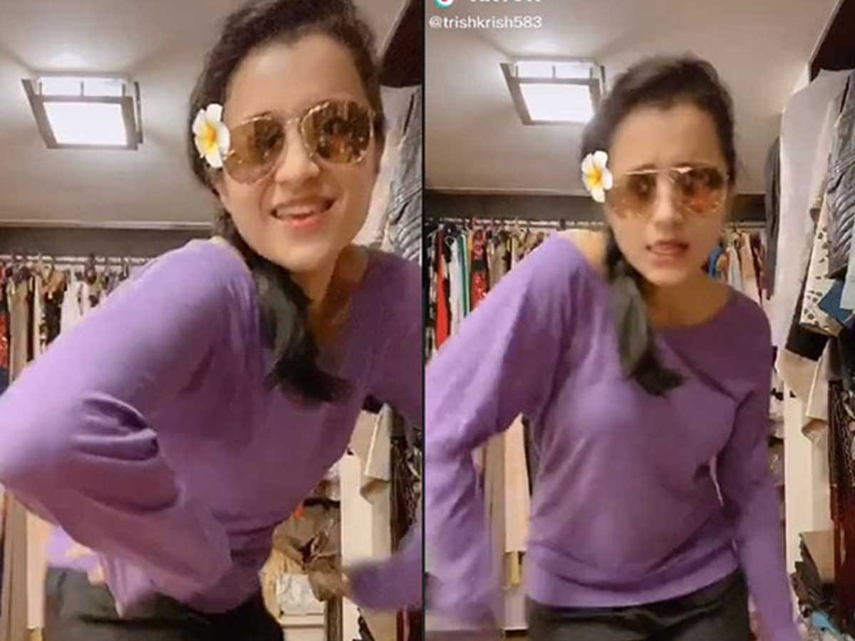Trisha's Hot Dance On Tik Tok Going Viral