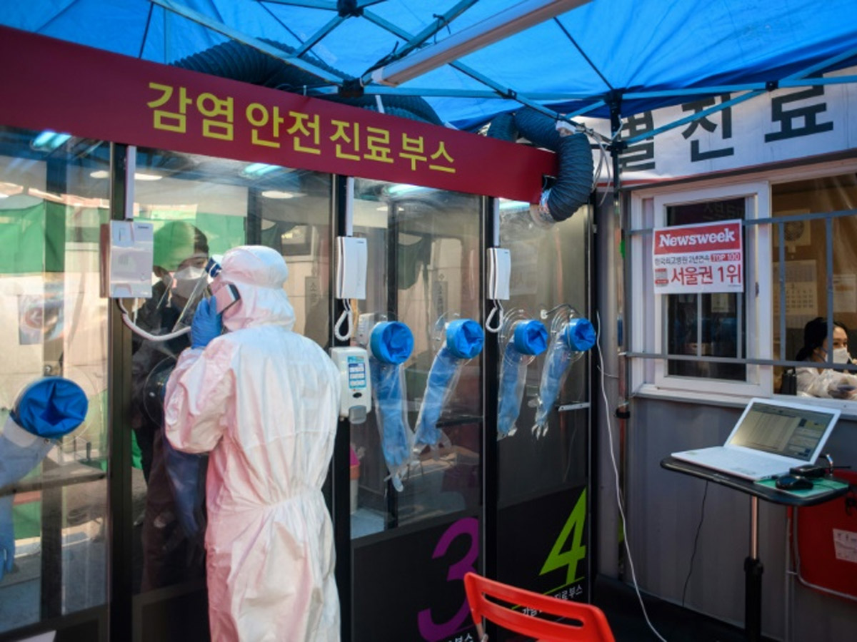 Covid-19: Kerala Emulates Korean Style Phone Booth Testing