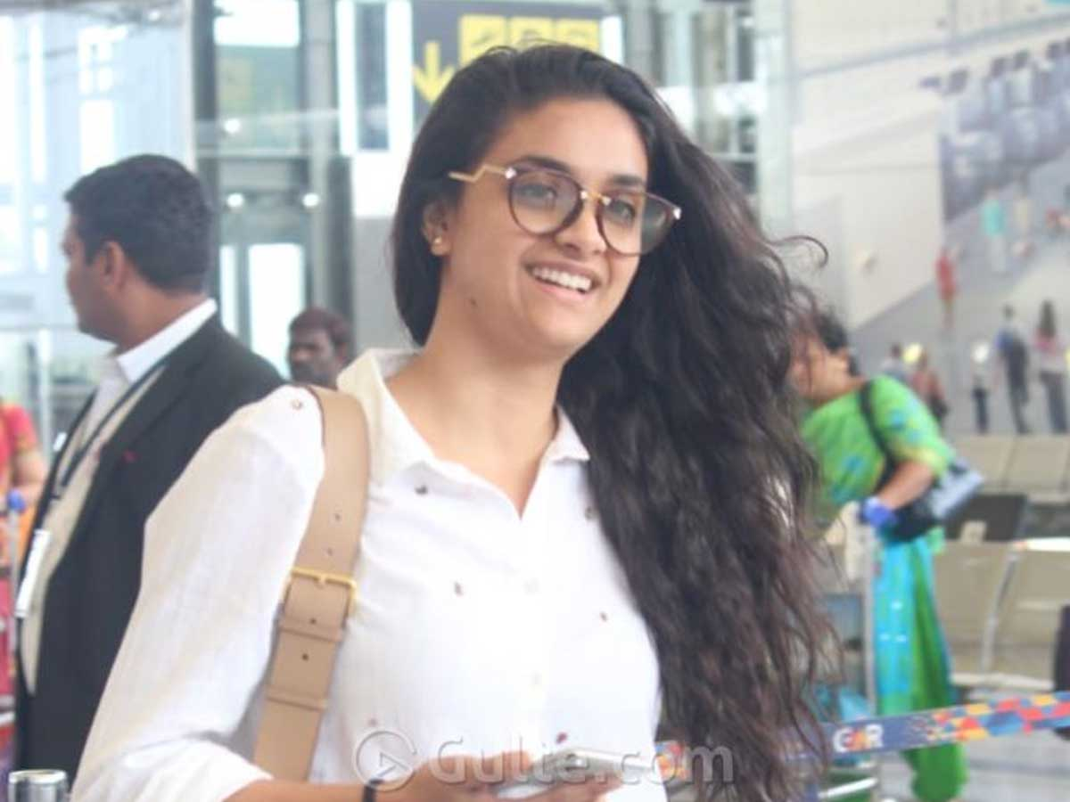 Comedian Behind Keerthi Suresh's Marriage  Rumor?