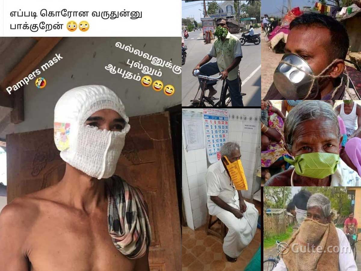 #IndiaMasked: Indians Rocking With Innovative Mouth Wear