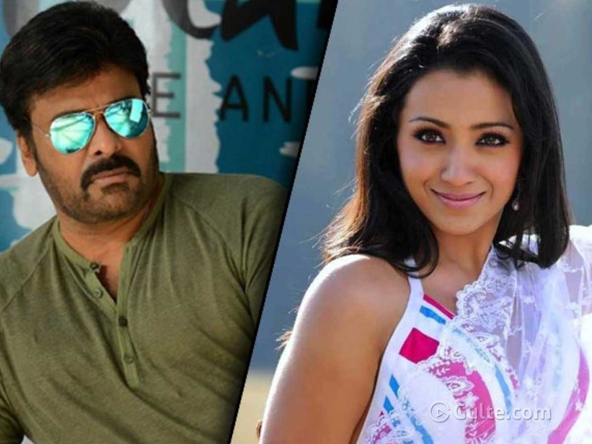 Did Trisha Lie About Her Exit? Chiru Says So
