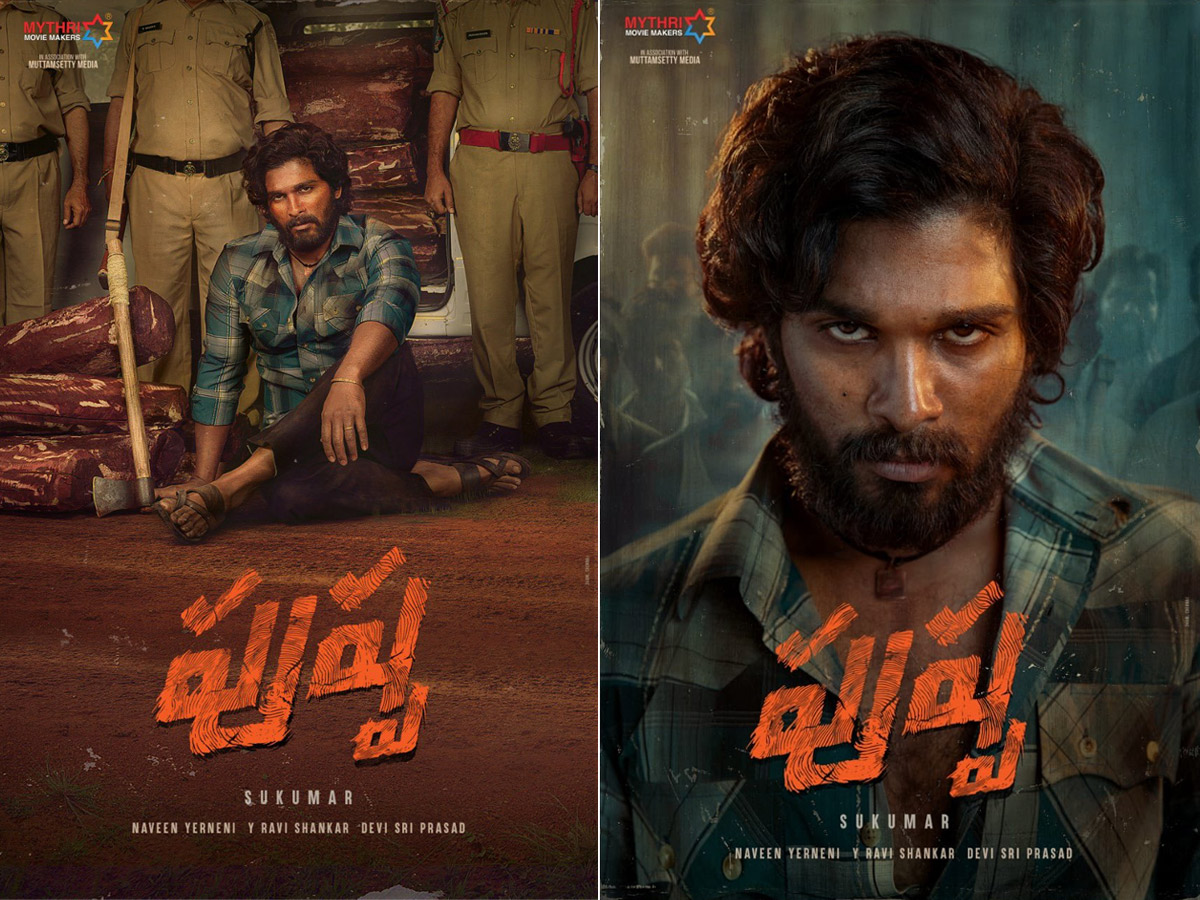 Pushpa Posters: Four Details That Are Hard To Miss