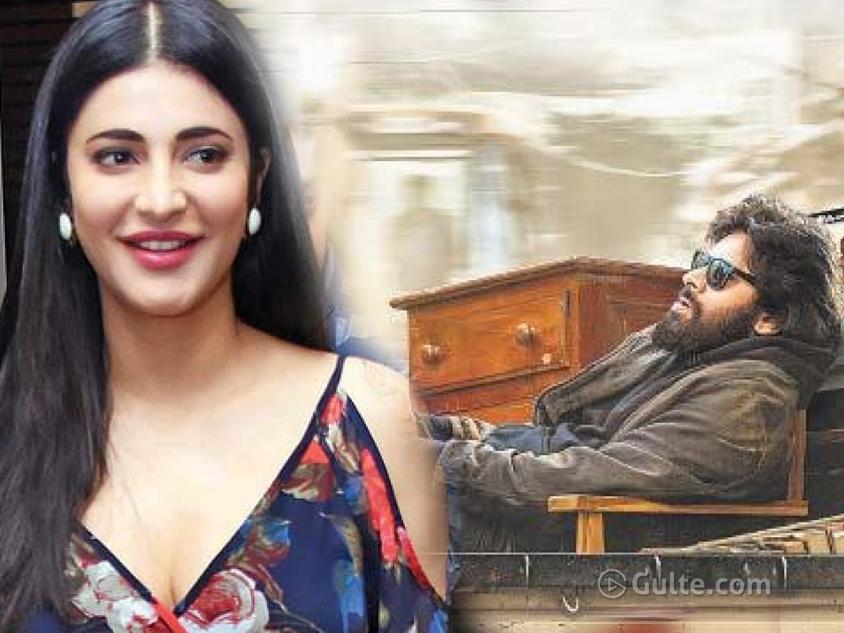 Shruti Disappoints Pawan's Fans