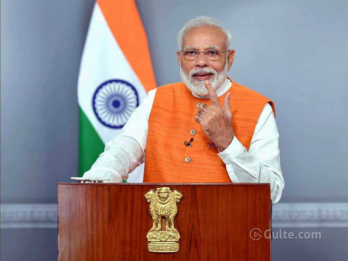Modi to address nation for the third time?