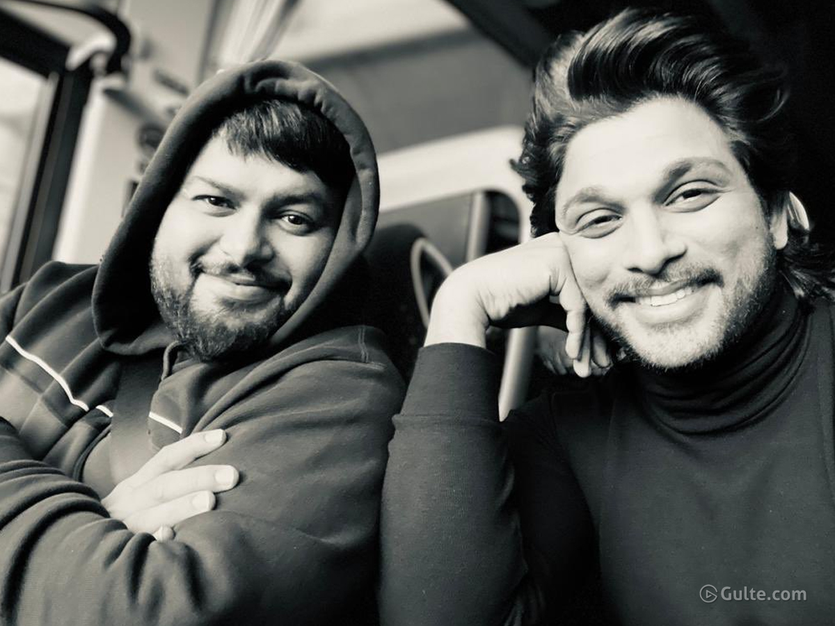 Allu Arjun Hails Thaman For Keeping His Promise