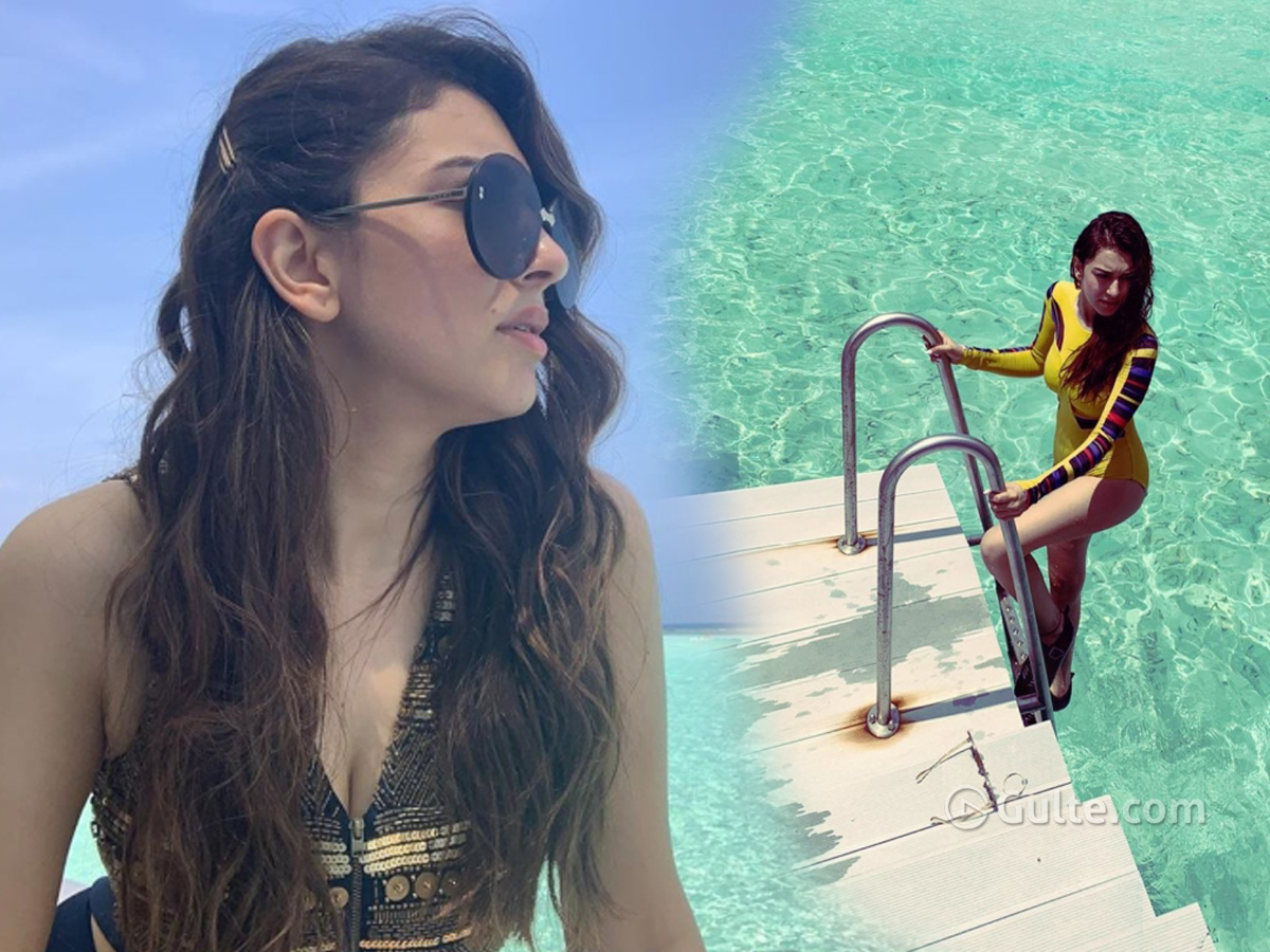 In Pics: Hansika missing her Bikini swims
