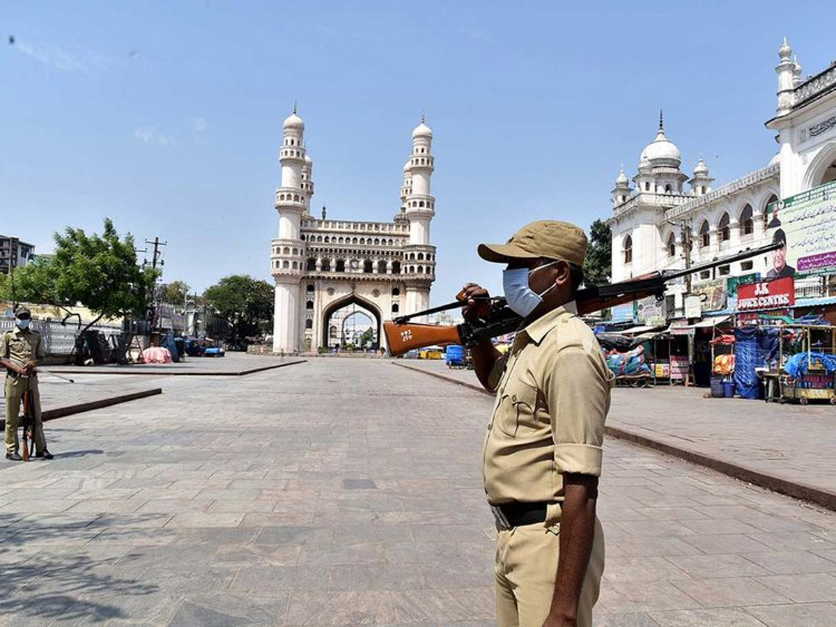 61 New Cases In Telangana, Charminar On High Alert