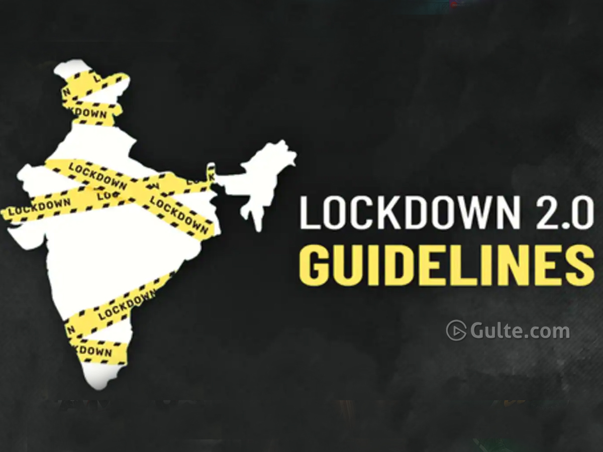 Here are the new Lockdown Guidelines