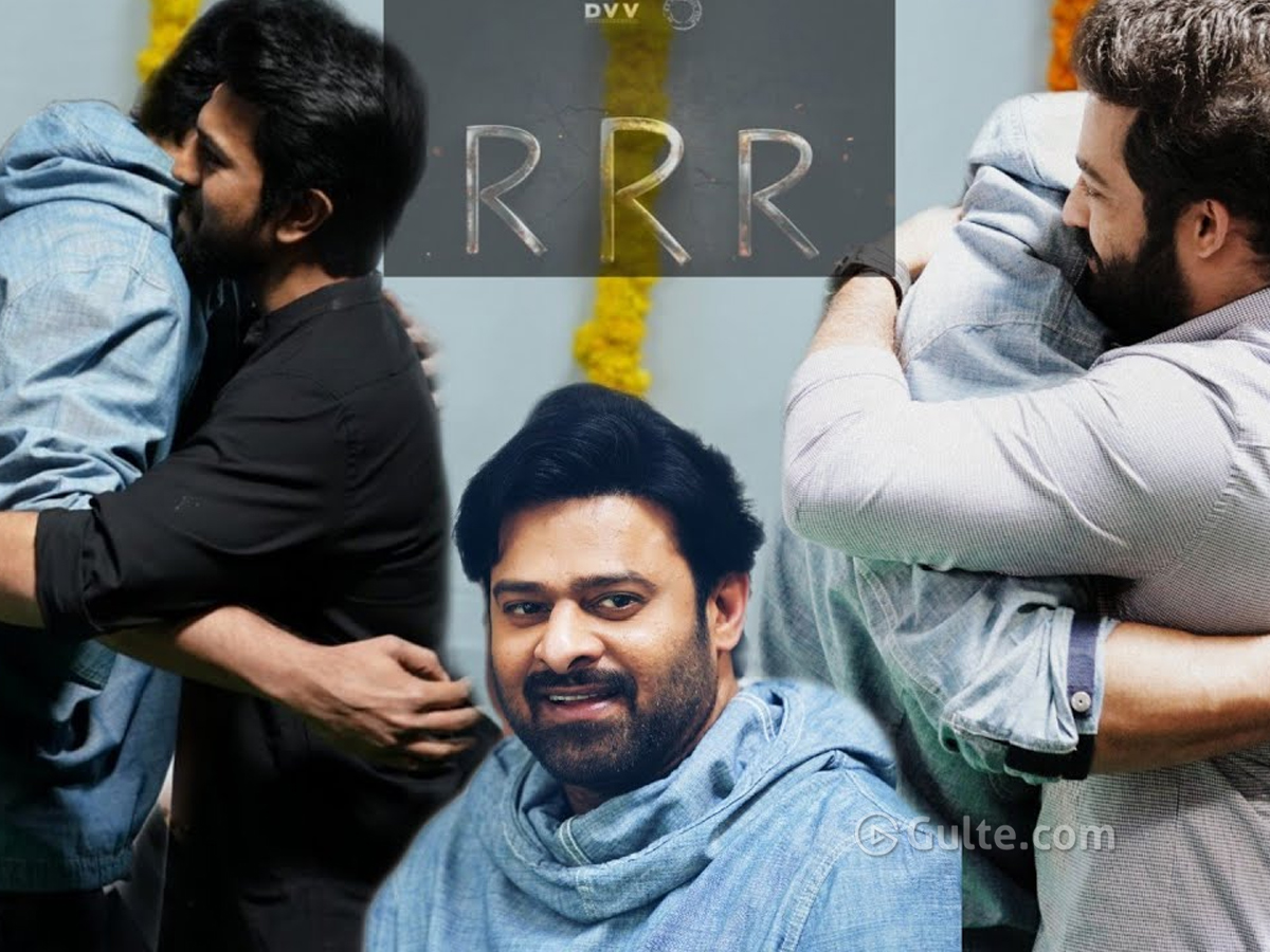 Rajamouli's Moments With Tarak, Charan & Prabhas