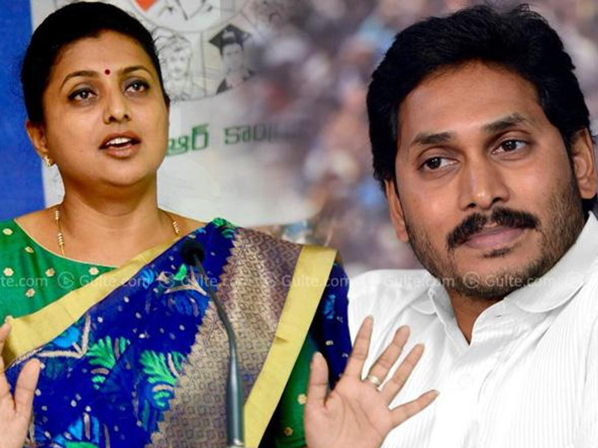 Jagan saves AP from Corona: Roja